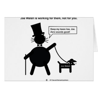 Congressman Joe Walsh Card