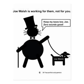 Congressman Joe Walsh Postcard