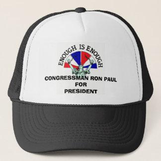 CONGRESSMAN RON PAUL FOR PRESIDENT TRUCKER HAT