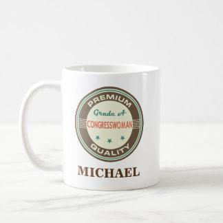 Congresswoman Personalized Office Mug Gift