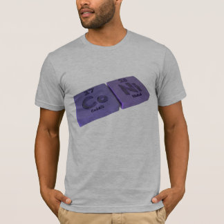 Coni as Co Cobalt and Ni Nickle T-Shirt