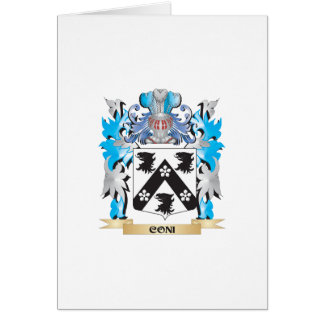 Coni Coat of Arms - Family Crest Cards