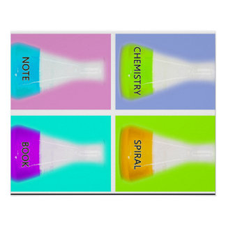 CONICAL FLASK POSTER