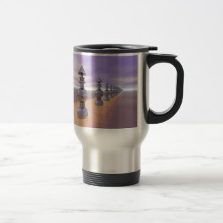 Conical Geometric Progression Travel Mug
