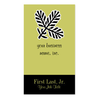 Conifer Branch Business Card
