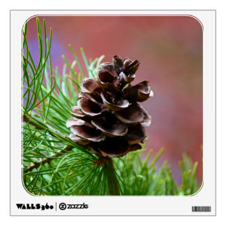 Conifer Pine Cone Wall Decal