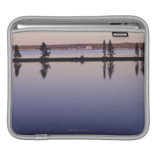 Conifer Trees, Yellowstone Lake Sleeves For iPads
