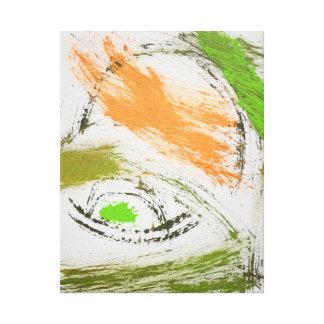 conífero lienzo envuelto para galerias