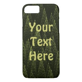 Conifers Fractal iPhone 8/7 Case