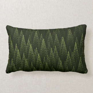 Conifers Throw Pillows