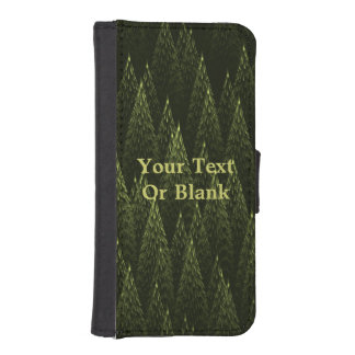 Conifers Wallet Phone Case For iPhone SE/5/5s