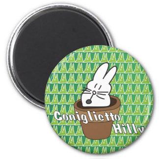 coniglietto hilly desktop 2 inch round magnet