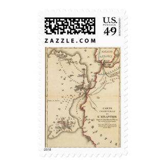 Conjecturale de l'Atlantide Postage