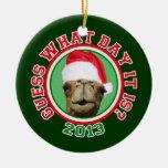 Conjetura 2013 del camello del día de chepa del na adorno de reyes