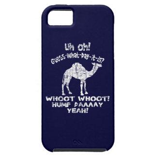 Conjetura del camello del día de chepa del vintage iPhone 5 funda