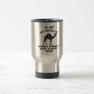 Conjetura del camello del día de chepa del vintage taza
