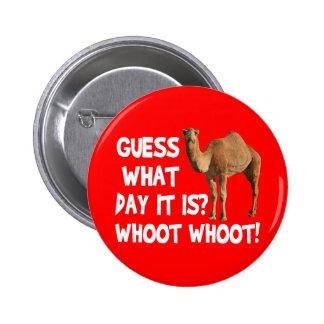 Conjetura del camello del día de chepa qué día es pin redondo 5 cm