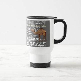 Conjetura del camello qué día taza de viaje