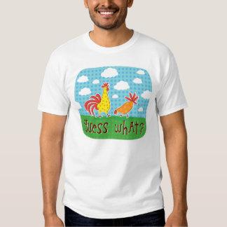 conjetura qué camiseta del extremo del pollo poleras