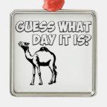 ¿Conjetura qué día es? Camello del día de chepa Ornato