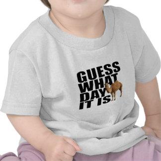 Conjetura qué día es camello del día de chepa camiseta