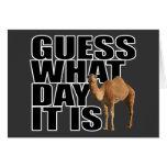 Conjetura qué día es camello del día de chepa tarjeton