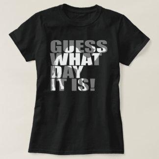 Conjetura qué día es camiseta del camello del día