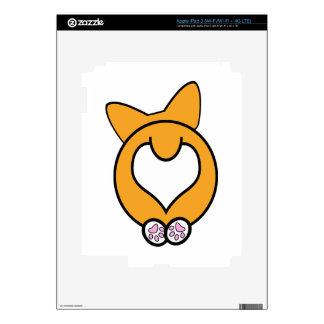 ¿Conjetura qué? ¡Extremo del Corgi! iPad 3 Skins