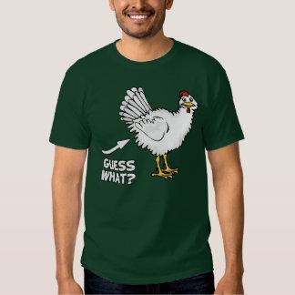 Conjetura qué extremo del pollo camisas