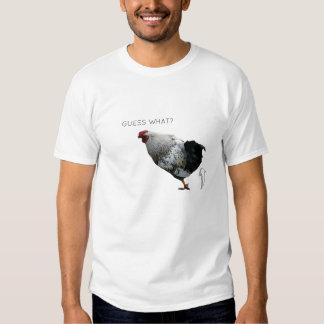 ¿CONJETURA QUÉ? EXTREMO DEL POLLO. camiseta Playera