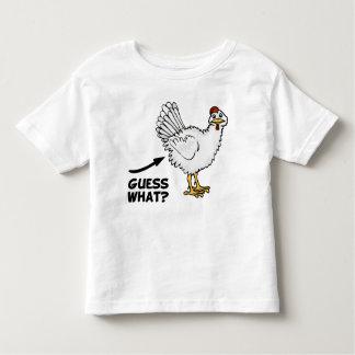 Conjetura qué extremo del pollo remeras