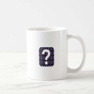 CONJETURE el arte NVN543 del símbolo de la pregunt Tazas De Café