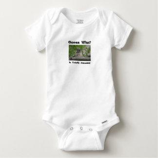 """¡""""Conjeture quién"""" es adorable, ropa del bebé! Remeras"""
