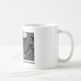 Conjugal Love In The Bacterial World Classic White Coffee Mug