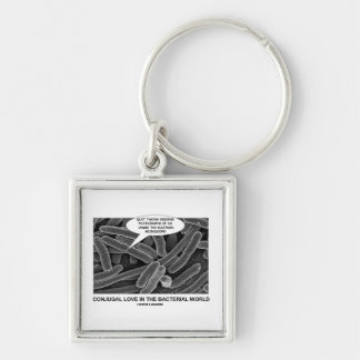 Conjugal Love In The Bacterial World Photograph Key Chain