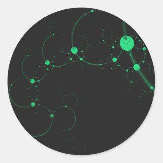Conjugate Classic Round Sticker