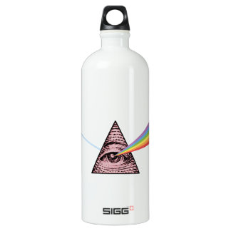 Conjunctivitis Illuminatis Aluminum Water Bottle