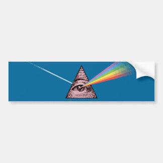 Conjunctivitis Illuminatis Bumper Sticker