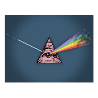 Conjunctivitis Illuminatis Postcard