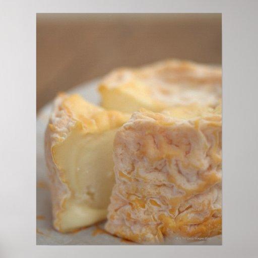 Conjunto de queso en la tabla posters