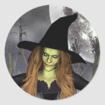 Conjuration Classic Witch Stickers