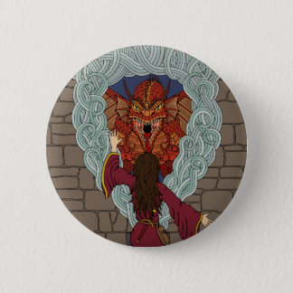 Conjuring the Dragon Pinback Button
