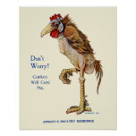 Conkeys Poultry Remedies Posters