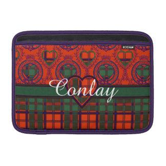 Conlay clan Plaid Scottish kilt tartan Sleeves For MacBook Air