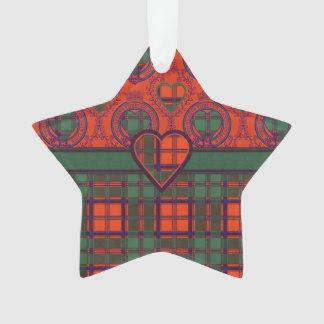 Conlay clan Plaid Scottish kilt tartan Ornament