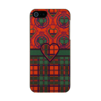Conley clan Plaid Scottish kilt tartan Incipio Feather® Shine iPhone 5 Case