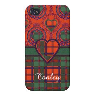 Conley clan Plaid Scottish kilt tartan iPhone 4/4S Case