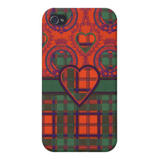 Conley clan Plaid Scottish kilt tartan iPhone 4/4S Covers