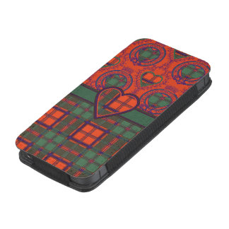 Conley clan Plaid Scottish kilt tartan iPhone 5 Pouch