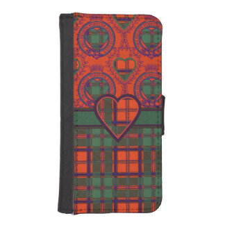 Conley clan Plaid Scottish kilt tartan Phone Wallets